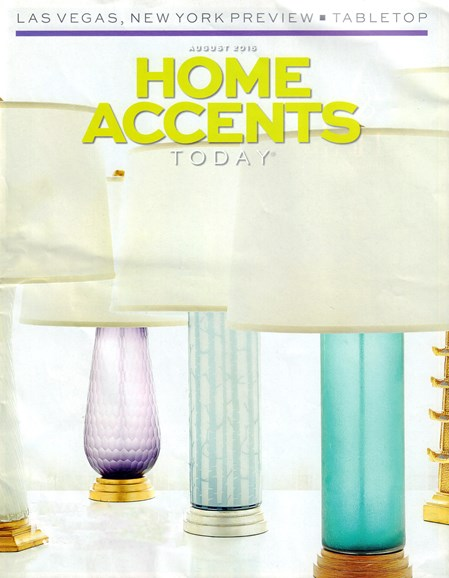 Home Accents Today Cover - 8/1/2016