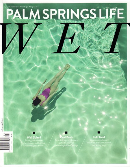 Palm Springs Life Cover - 8/1/2016