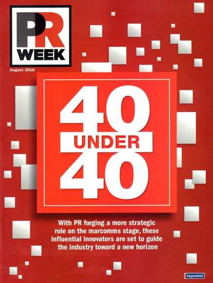 PRWeek Cover - 8/1/2016