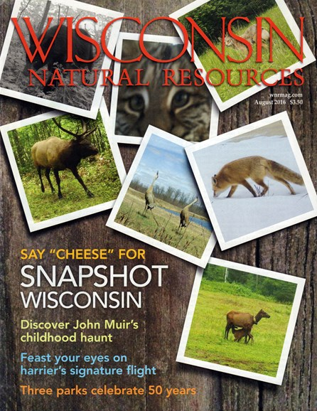 Wisconsin Natural Resources Cover - 8/1/2016
