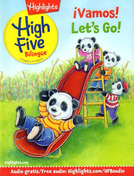 Highlights High Five Bilingue Cover - 8/1/2016
