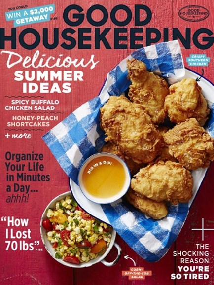 Good Housekeeping Cover - 8/1/2016