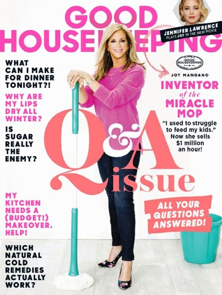 Good Housekeeping Cover - 2/1/2016