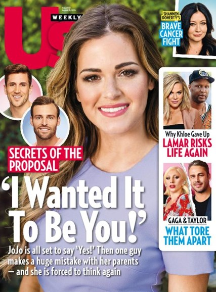 Us Weekly Cover - 8/8/2016