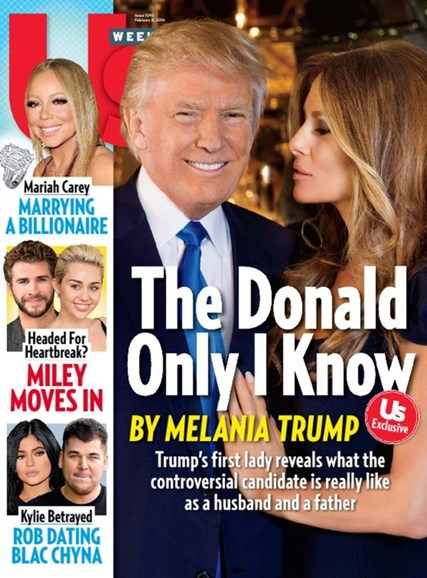 Us Weekly Cover - 2/8/2016