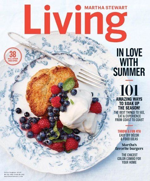 Martha Stewart Living Cover - 7/1/2016