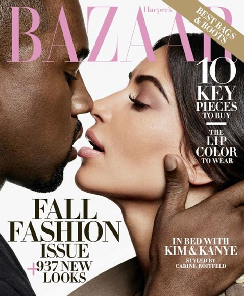 Harper's Bazaar Cover - 9/1/2016