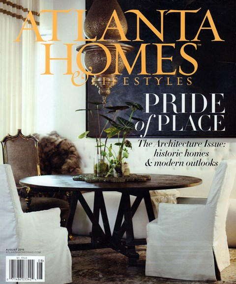 Atlanta Homes & Lifestyles Cover - 8/1/2016