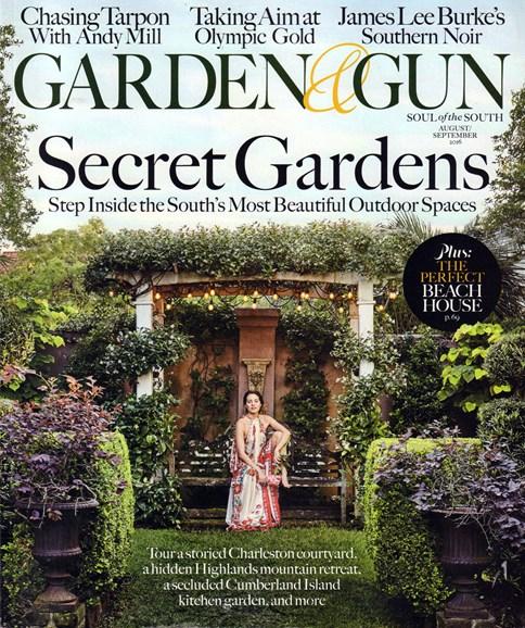 Garden & Gun Cover - 8/1/2016
