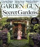 Garden & Gun Magazine 8/1/2016