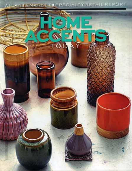 Home Accents Today Cover - 7/1/2016