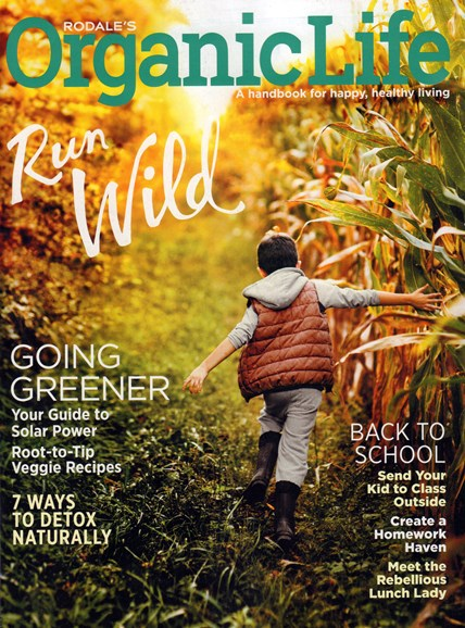 Organic Life Cover - 9/1/2016