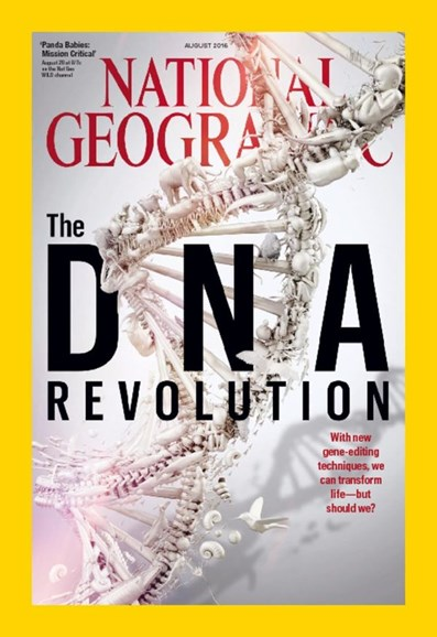 National Geographic Cover - 8/1/2016