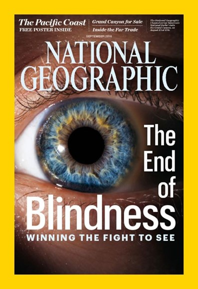 National Geographic Cover - 9/1/2016