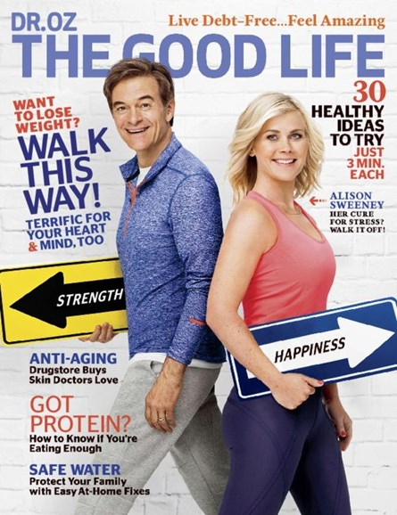Dr. Oz The Good Life Cover - 9/1/2016