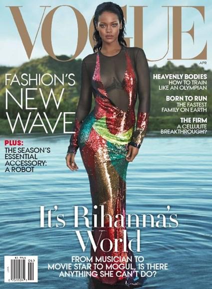 Vogue Cover - 4/1/2016