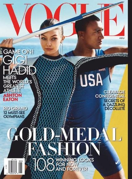 Vogue Cover - 8/1/2016