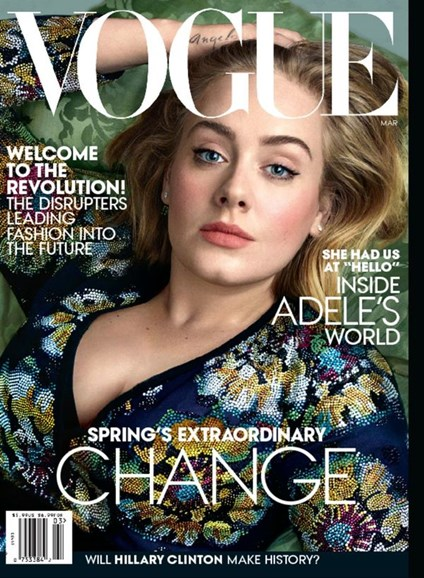 Vogue Cover - 3/1/2016