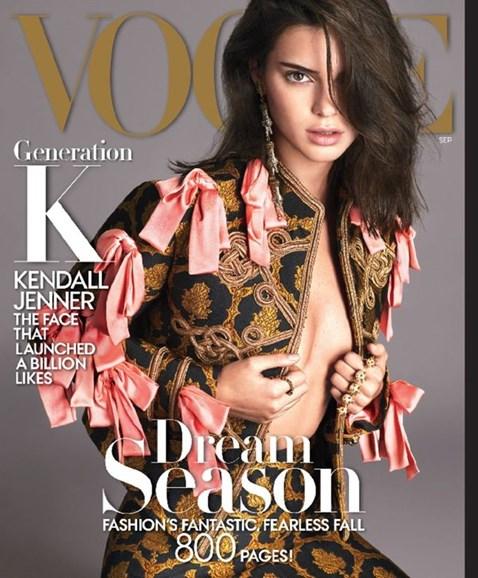 Vogue Cover - 9/1/2016