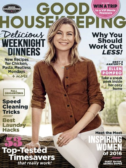 Good Housekeeping Cover - 9/1/2016