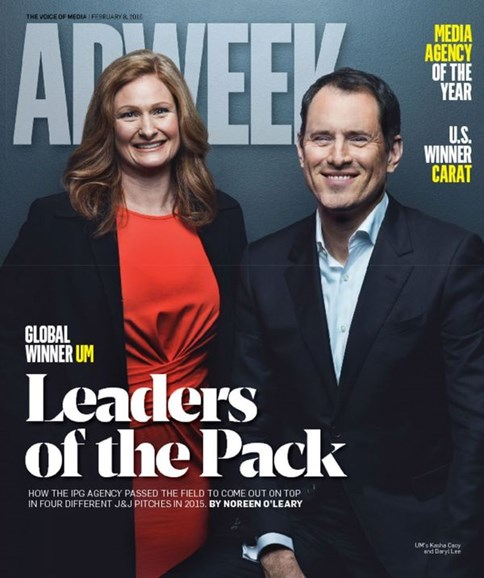 Adweek Cover - 2/8/2016
