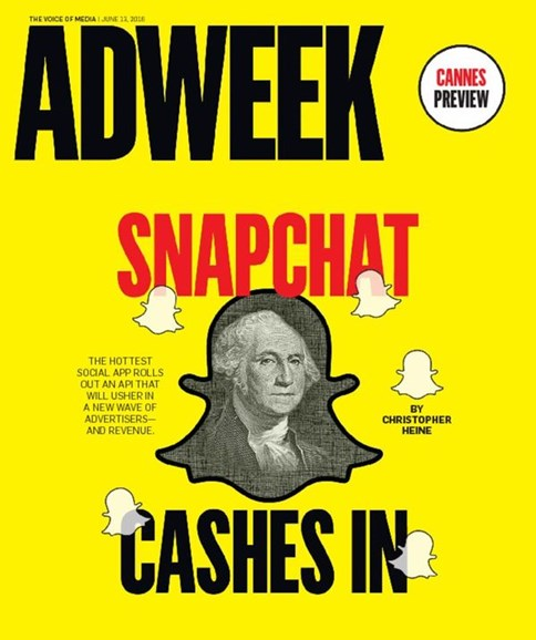 Adweek Cover - 6/13/2016
