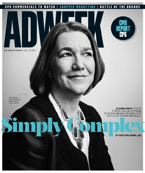 Adweek Cover - 6/20/2016