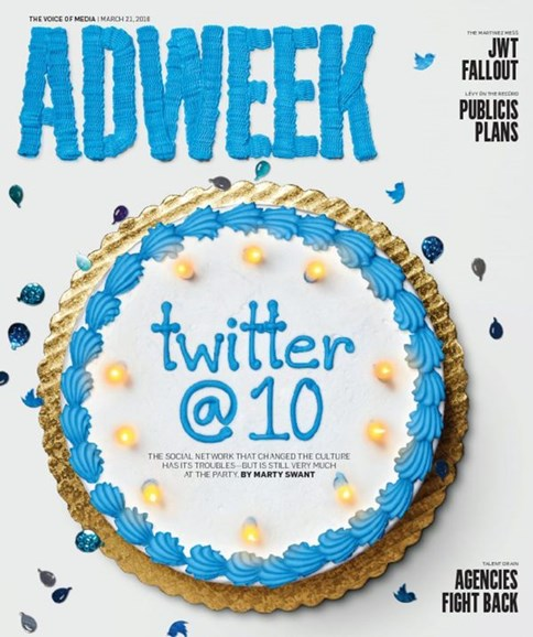 Adweek Cover - 3/21/2016