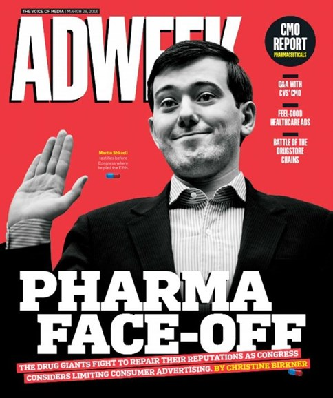 Adweek Cover - 3/28/2016