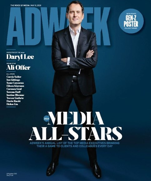 Adweek Cover - 5/9/2016