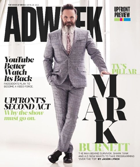 Adweek Cover - 4/20/2015