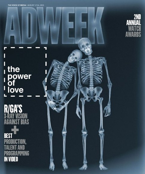 Adweek Cover - 8/17/2015
