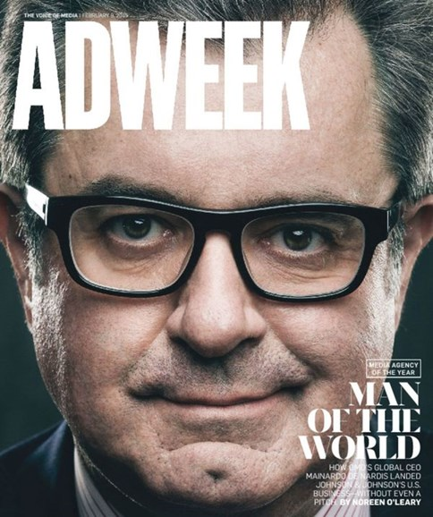 Adweek Cover - 2/9/2015
