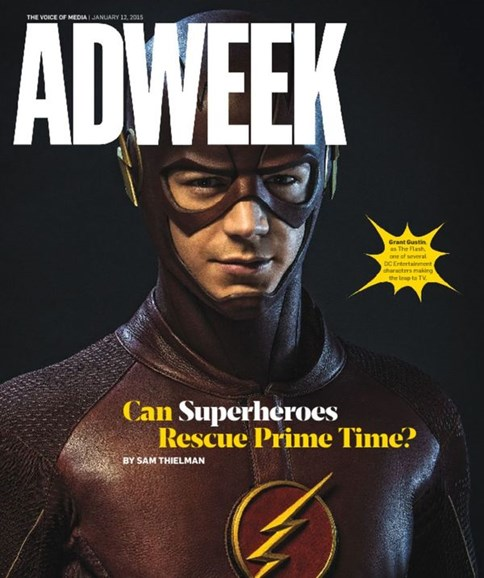 Adweek Cover - 1/12/2015