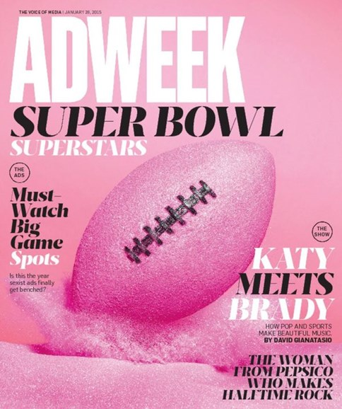 Adweek Cover - 1/26/2015