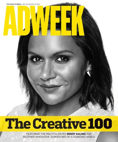 Adweek Cover - 7/20/2015