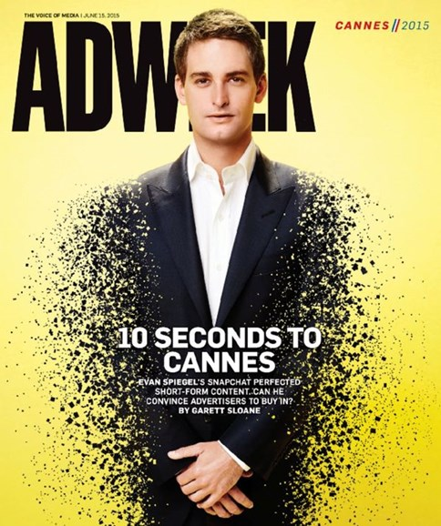 Adweek Cover - 6/15/2015