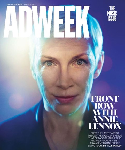 Adweek Cover - 3/16/2015