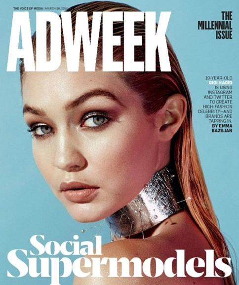 Adweek Cover - 3/30/2015