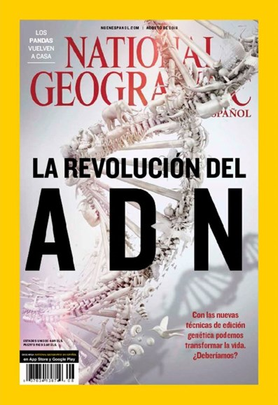 National Geographic En Español Cover - 8/1/2016