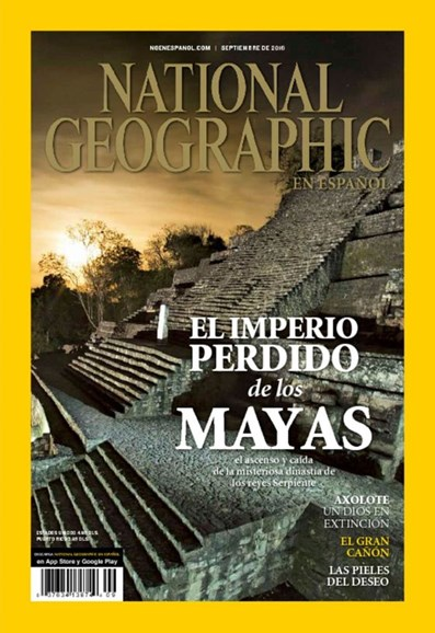 National Geographic En Español Cover - 9/1/2016