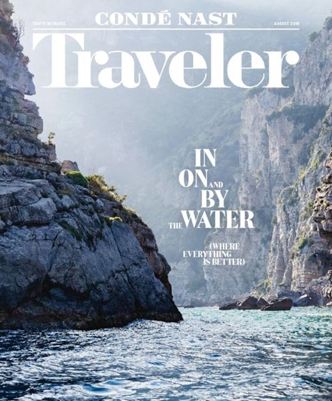 Condé Nast Traveler Cover - 8/1/2016