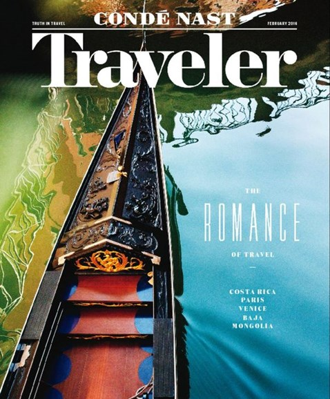 Condé Nast Traveler Cover - 2/1/2016