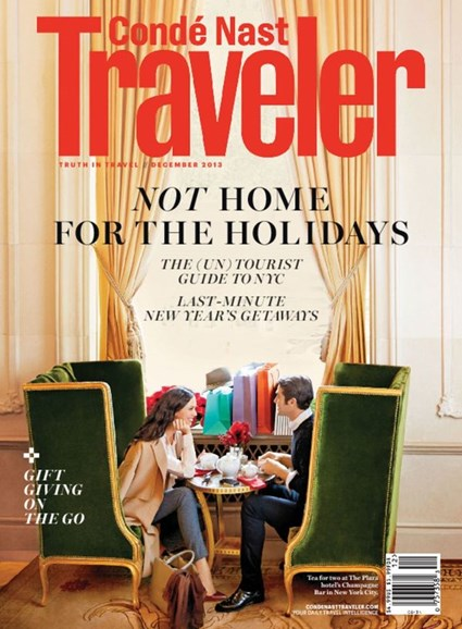 Condé Nast Traveler Cover - 12/1/2013