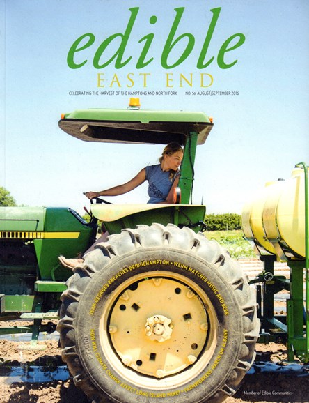 Edible East End Cover - 8/1/2016