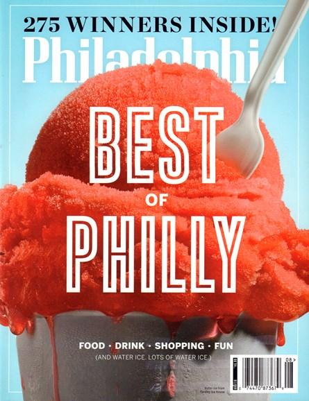 Philadelphia Magazine Cover - 8/1/2016