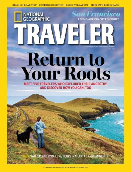 National Geographic Traveler Cover - 4/1/2013