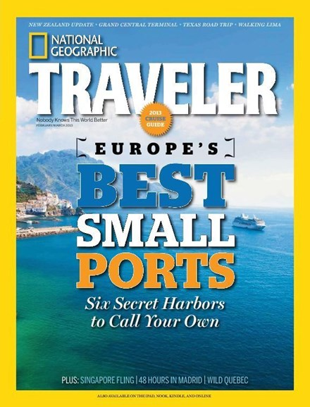 National Geographic Traveler Cover - 2/1/2013