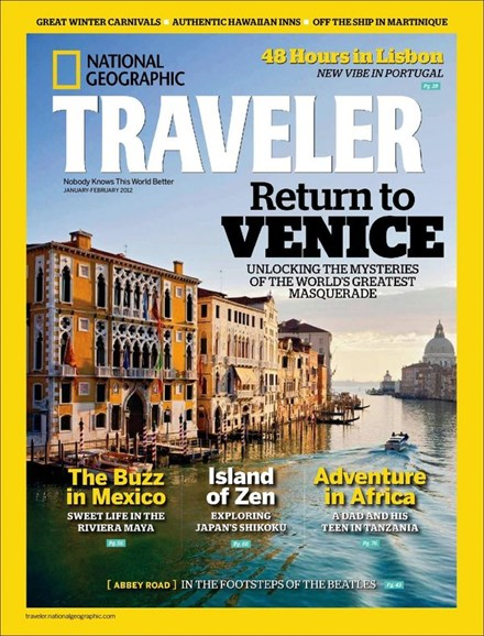 National Geographic Traveler Cover - 1/1/2012