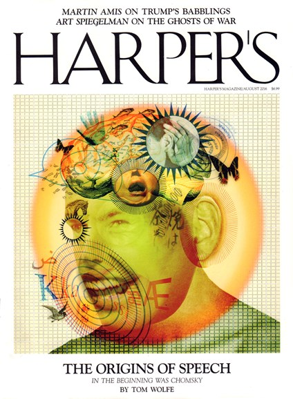 Harper's Cover - 8/1/2016